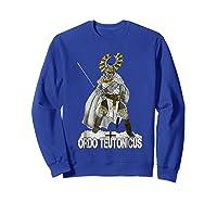 Knights Of The Teutonic Order Shirts Sweatshirt Royal Blue