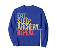 Eat Sleep Repeat Gift Shirt Eat Sleep Ary Repeat T-shirt Sweatshirt Royal Blue