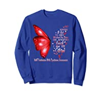 Am The Storm Wolff Parkinson Syndrome Butterfly Shirts Sweatshirt Royal Blue