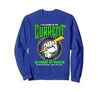 Funny Electrician Gift Electrical Engineer Lineman T-shirt Sweatshirt Royal Blue