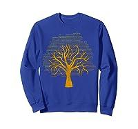 Binary Tree Computer Coding Shirts Sweatshirt Royal Blue