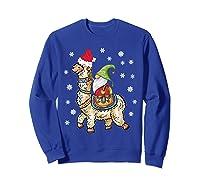 Santa Hat Christmas - Santa Gnome T-shirt Sweatshirt Royal Blue