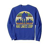 Rae Lakes Loop Shirt, Rae Lakes Loop T-shirt Sweatshirt Royal Blue
