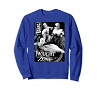Twilight Zone About To Enter Another Dision Shirts Sweatshirt Royal Blue