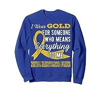 Means Everything Embryonal Rhabdomyosarcoma Shirts Sweatshirt Royal Blue