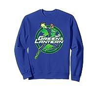 Green Lantern Glow Shirts Sweatshirt Royal Blue