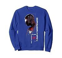 Spider Man Miles Morales Specs Shirts Sweatshirt Royal Blue