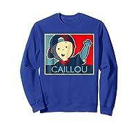 Caillou T Shirt Sweatshirt Royal Blue