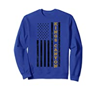Kings Canyon National Park Souvenir Gift T-shirt Sweatshirt Royal Blue