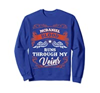 Blood Runs Through My Veins 1t5d Shirts Sweatshirt Royal Blue