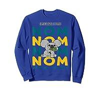 We Bare Bears Nom Nom Everyone's Tube Internet Celebrity Shirts Sweatshirt Royal Blue
