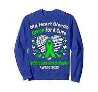 For A Cure Primary Sclerosing Cholangitis Awareness Shirts Sweatshirt Royal Blue