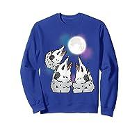 Three Opossum Moon S Shirts Sweatshirt Royal Blue