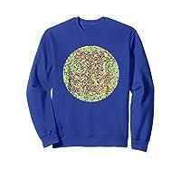 Fuck The Colorblind Shirts Sweatshirt Royal Blue