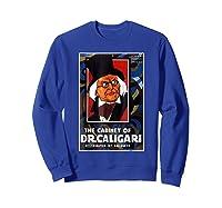 Cabinet Of Dr Caligari Halloween Horror Shirts Sweatshirt Royal Blue