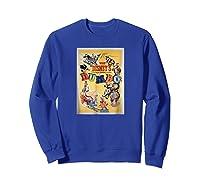 Dumbo Classic Shirts Sweatshirt Royal Blue