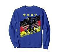 Germany Soccer Style Deutschland 1990 Shirts Sweatshirt Royal Blue