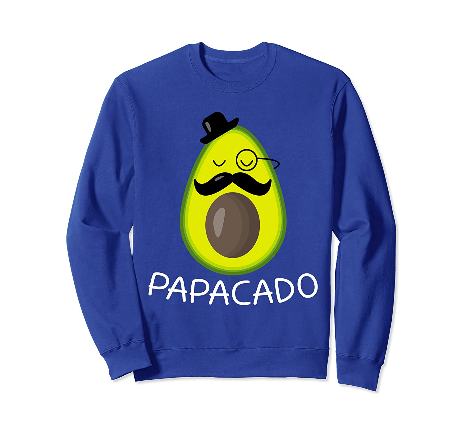 Avocado Funny Papacado Cinco De Mayo Avocado Costume Vegan Sweatshirt Unisex Tshirt