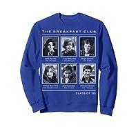 Breakfast Club Year Book Club Photos Graphic Shirts Sweatshirt Royal Blue