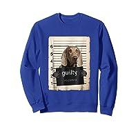 Weimaraners Dog Mug Sho Shirts Sweatshirt Royal Blue