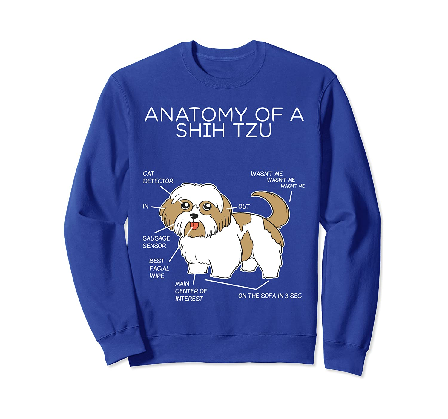 choose colour and size All Dog Breeds Available shih tzu dad t Shirt