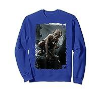 The Lord Of The Rings Gollum T-shirt Sweatshirt Royal Blue