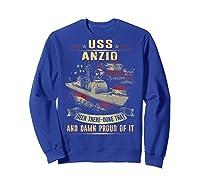 Anzio Cg 68 Shirts Sweatshirt Royal Blue