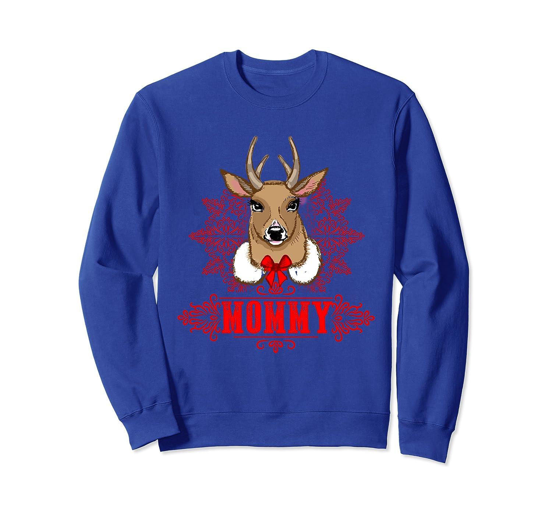 Cute Mommy Deer Christmas Ornament Reindeer Mom Sweatshirt
