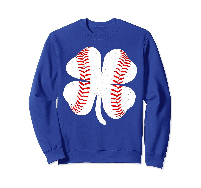 4 Leaf Clover Baseball St Patricks Day Catcher Shamrock Sweatshirt Unisex Tshirt
