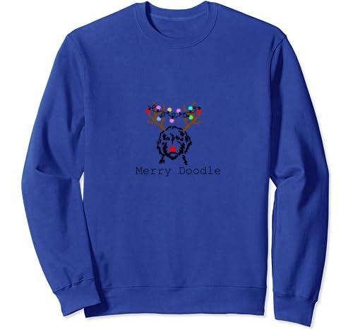 Merry Doodle Goldendoodle Aussiedoodle Christmas Sweatshirt