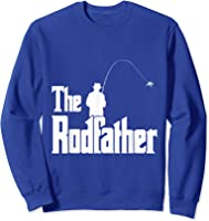 The Rodfather Is On The River This Christmas T-shirt Sweatshirt Royal Blue