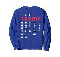 Impeach President Resist Russian Putin 2020 Anti Trump Premium T Shirt Sweatshirt Royal Blue