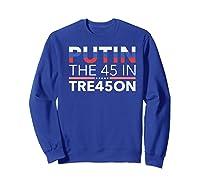 Impeach President Resist Russian Putin Anti Trump 2020 Premium T Shirt Sweatshirt Royal Blue