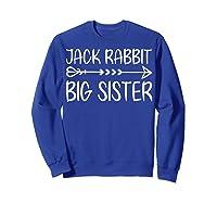 Cute Fack Rabbit Big Sister Shirt T Shirt Sweatshirt Royal Blue