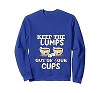 Breast Cancer Awareness Month Design For Cancer Survivors T Shirt Sweatshirt Royal Blue