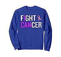 Breast Cancer Month Awareness Gift For Survivors Warriors Premium T Shirt Sweatshirt Royal Blue