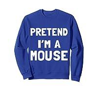 Mouse Halloween Costume Funny Gift Shirts Sweatshirt Royal Blue