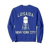 Loisaida New York City 10009 Nyc Alphabet City Water Tower T Shirt Sweatshirt Royal Blue