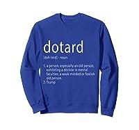 Funny Anti Trump T Shirt Hate Resist Donald Democrat Impeach Sweatshirt Royal Blue