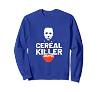 Halloween Inspired Design For Horror Lovers Shirts Sweatshirt Royal Blue