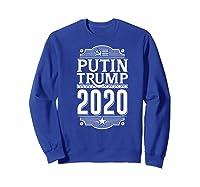 Resist Russian Putin Impeach President Putin Trump 2020 Premium T Shirt Sweatshirt Royal Blue