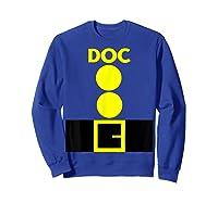 Beard Santa Dwarf Matching Group Halloween Doc Costume Shirts Sweatshirt Royal Blue