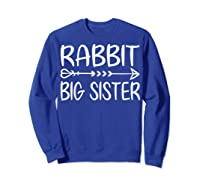 Cute Rabbit Big Sister Shirt I M Going To Be A Big Sister T Shirt Sweatshirt Royal Blue