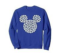 Disney Mickey Mouse Shamrocks St Patrick S Day T Shirt Sweatshirt Royal Blue