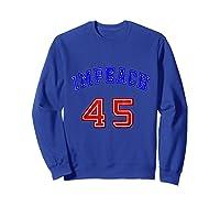 Impeach 45 T Shirt 45th President Donald Trump Mbassp T Shirt Sweatshirt Royal Blue