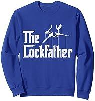Locksmith - Lockfather T-shirt Sweatshirt Royal Blue