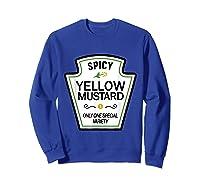 Mustard Condits Group Halloween Costumes T-shirt T-shirt Sweatshirt Royal Blue