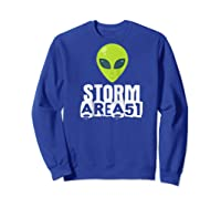 Storm Area 51 - Alien Awareness Truth Event - Together We Raglan Baseball Ts Shirts Sweatshirt Royal Blue