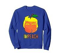 Anti Trump 2020 Vote Dems For Senate Impeach President Premium T Shirt Sweatshirt Royal Blue
