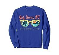 Gulf Shores Beach Alabama Paradise Lost Shirts Sweatshirt Royal Blue